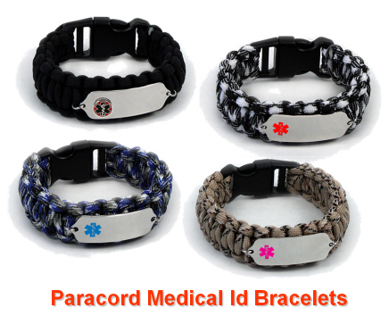 Paracord Medical Bracelets