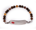 """Savanna"" Medical ID Bracelet. Length 8.0""."