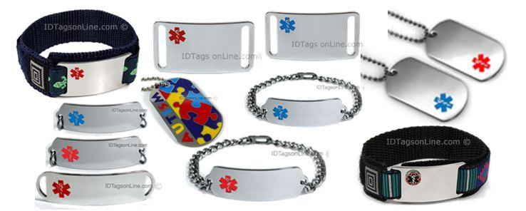 Medical Id Bracelets And Dog Tags