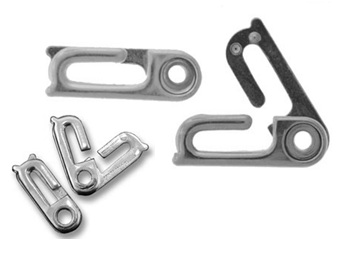 Stainless Steel Sister Hook Clasp. - Click Image to Close