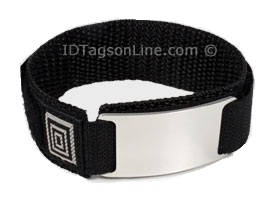 Double sided Stainless Steel Sport ID Bracelet