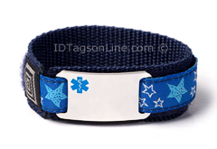 Kids Sport Medical Id bracelets